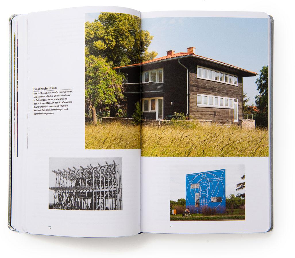 """Bauhaus Reisebuch"" Publikation"