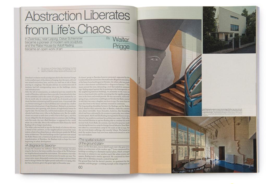 """Publikation für das Bauhaus Magazin  """"Haus Rabe"""""""